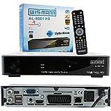 Botech AL- 8001 HD HD Uydu Alıcısı, IPTV Receiver, Siyah