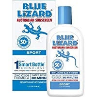 Blue Lizard Australian Sunscreen - Water Resistant Sport Sunscreen SPF 30+ Broad Spectrum UVA/UVB Protection