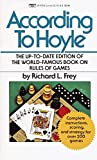 According to Hoyle: The Up-to-Date Edition of the