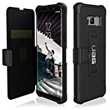 UAG Samsung Galaxy S8+ [6.2-inch screen] Metropolis Feather-Light Rugged [BLACK] Military Drop Tested Phone Case