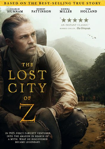 The Lost City Of Z  Blu Ray
