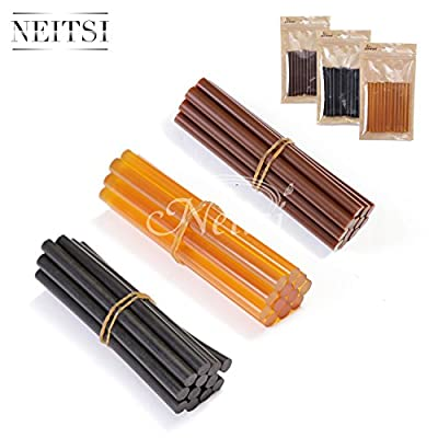Neitsi® Set of 12 Professional Hair Extensions Keratin Gun Bond Glue Sticks