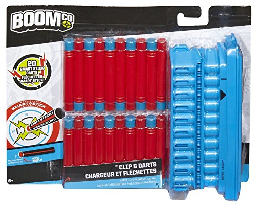 (BOOMco. Clip and 20 Dart Pack (Discontinued by manufacturer))