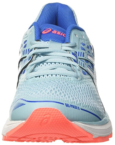 Porcelain 1401 Victoria Zapatillas 9 Blue Pulse Mujer de Blue Gel White para Running Asics Turquesa CqSzW