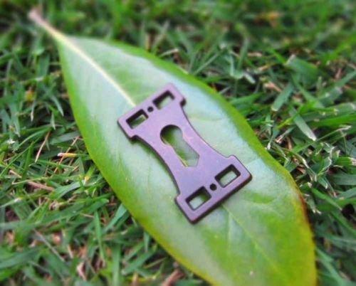 Metal Door Keyhole Garden Door Fairy Faerie Gnome Hobbit Miniature Pixie Sprite