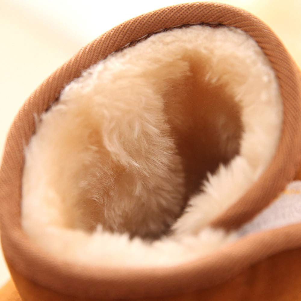 PENGYGY Baby Shoes New Fashion Cute Toddler Winter Baby Child Style Cotton Boot Boys Girls Warm Snow Boots by Pengy--Shoes (Image #6)