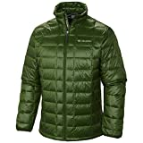 Columbia Men's Trask Mountain Turbo Down Jacket, Woodland, Large