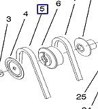 63-2967 Toro Snowthrower Impeller V-Belt 63-2965 63-2966 1332 1232 Power Shift