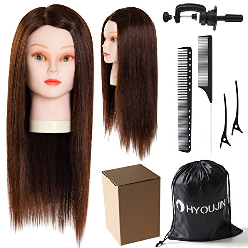mannequin head with human hair - 4