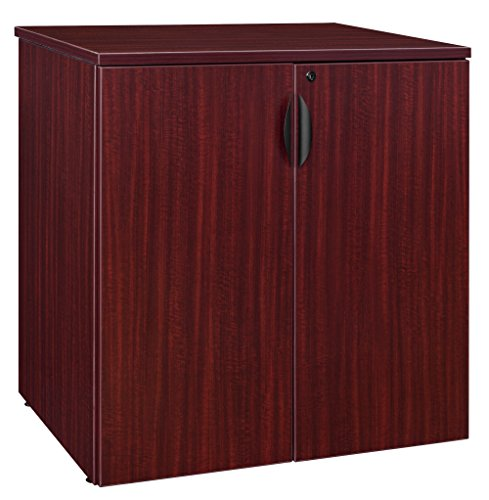 (Regency Legacy 35-inch Stackable Storage Cabinet- Mahogany)