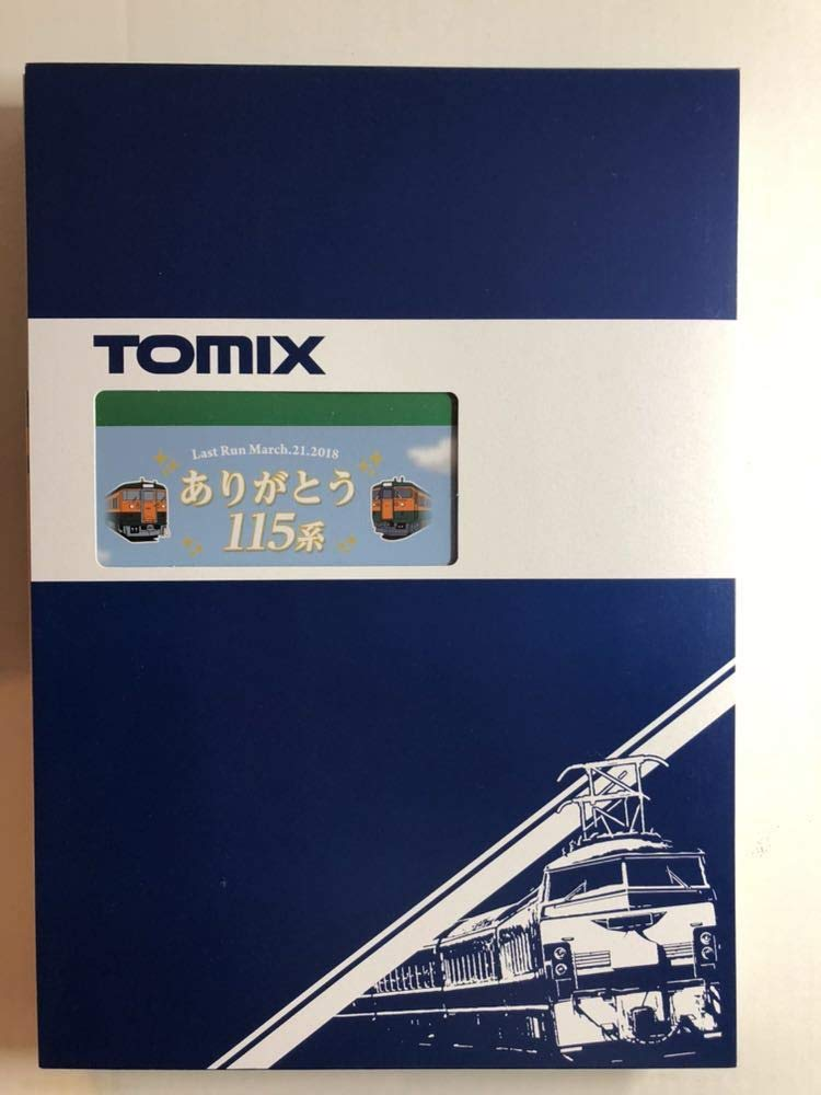TOMIX 98989 115 1000系(高崎車両センターありがとう115系)6両セット(限定品) B07T362YQP