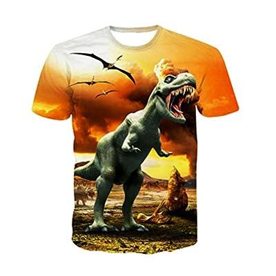 Uideazone Unisex 3D Graffiti Pattern Funny Tee T-Shirt Top