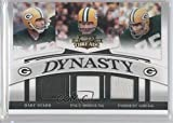 Bart Starr; Paul Hornung; Forrest Gregg #108/250 (Football Card) 2008 Donruss Threads - Dynasty - Jerseys [Memorabilia] #D-3