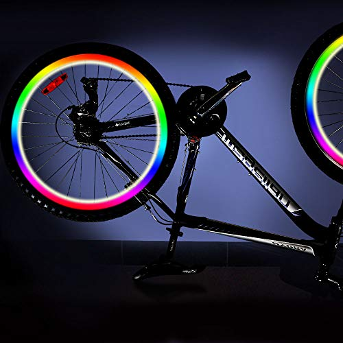 Cooco Halloween Toys for 5-14 Year Old Boys, Waterproof Bike Accessories Bike Wheel Light for 5-14 Year Old Girls Birthday Gift Age 5-14 Christmas Xmas Stocking Stuffers Stocking fillers Colorful