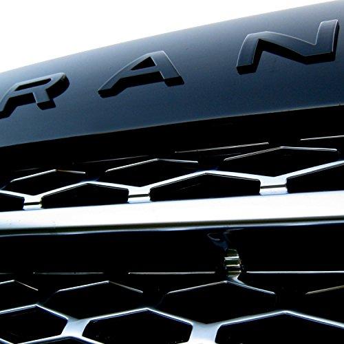Evoque Black Finish Hood//Tailgate 3D Letter Stickers for Range Rover Range Rover Sport 10 Set etc