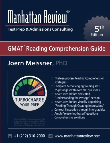 Manhattan Review GMAT Reading Comprehension Guide [5th Edition]: Turbocharge your Prep