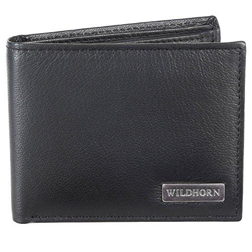 WildHorn Black Men's Wallet (WH320)