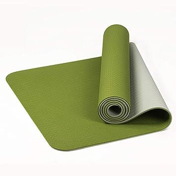 ACCDUER 72 * 24 * 0.23 (Pulgadas) Estera de Yoga Extra ...