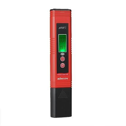 Kkmoon Ph-007 Medidor de Ph Tipo Pluma con Temperatura Auto Compensación Función Atc Calibración