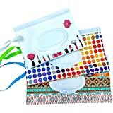 Reusable Wet Wipe Pouch Travel Wipes Dispenser for Baby Eco Friendly Wipe Pouches, Great for Travel (3 Pack) (FF)