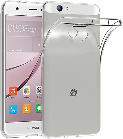 AICEK Cover per Huawei Nova, Cover Huawei Nova [Non per Nova Young ] 5 Pollici Silicone Case Molle di TPU Trasparente Sottile Custodia per Huawei Nova