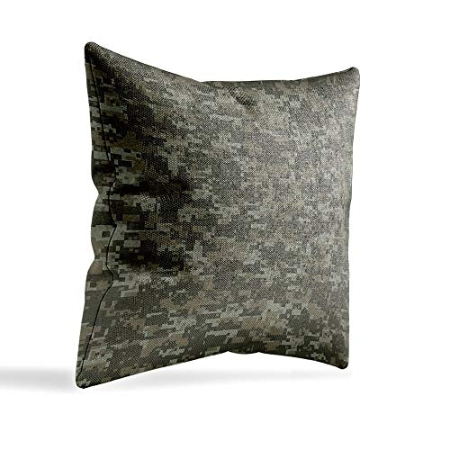 - YOLIYANA Handmade System Camouflage Office Location, Studio Pillowcase with Pattern 12×12 Inches