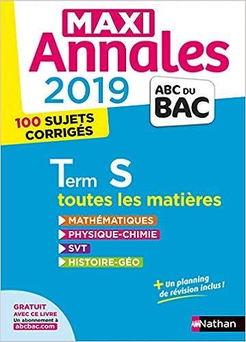 Maxi Annales Tle S : 100 sujets corrigés (ABC du Bac): Amazon.es: Collectif, Dominique Besnard, Christian Lixi, Philippe Lixi, Karine Marteau-Bazouni: ...