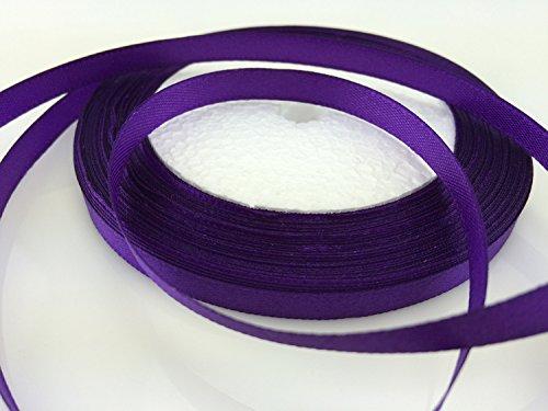 Solid Color Satin Ribbon 1/4