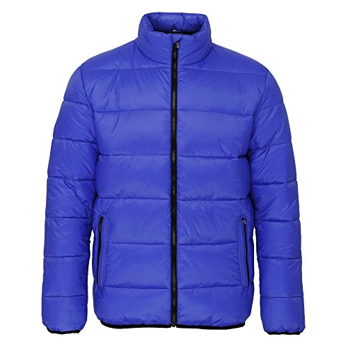 Venture Zip Navy 2786 Black Mens Padded Jacket Supersoft Full qaxUgTn