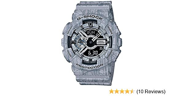 Amazon.com: G-Shock GA-110 Slash Patter Luxury Watch - Grey/One Size: Casio: Watches