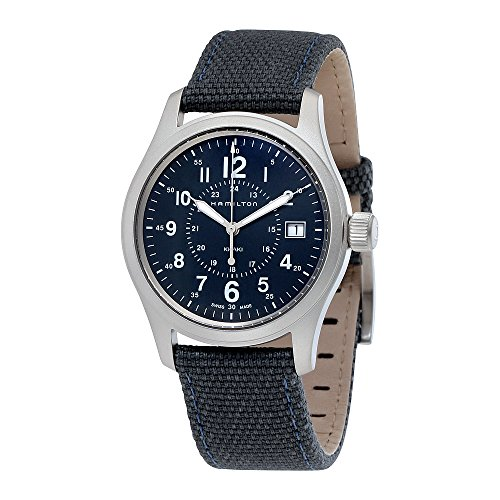 Watch Field Hamilton (Men's Hamilton Khaki Field Quartz Blue Steel Military Watch H68201943)