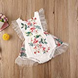 Newborn Baby Girl Clothes Sleeveless Backless
