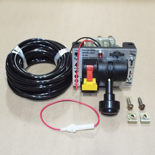 CONTROL VALVE - DUAL VALVE (PTO & DUMP PUMP) AIR KIT WITH KICKOUT by National Drivetrain