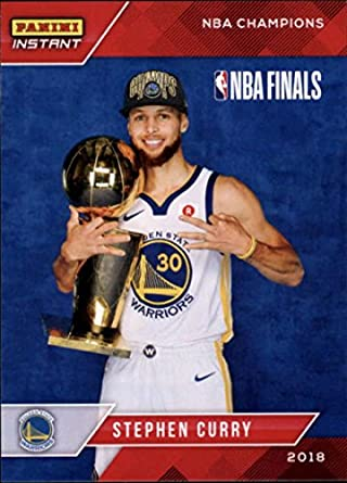 a6367e97cb9 Amazon.com  2018 Panini Golden State Warriors Championship Box Set  5  Stephen Curry 2017-18 Basketball Card  Collectibles   Fine Art