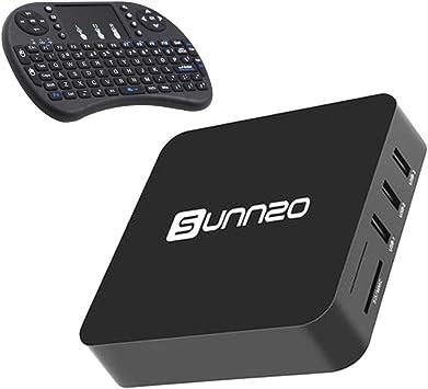 LEDMOMO Android 6.0 TV Box 4K HD WIFI Smart TV Box con Mini tastiera inalámbrico por Android PC portátil TV 1GB + 8GB: Amazon.es: Electrónica