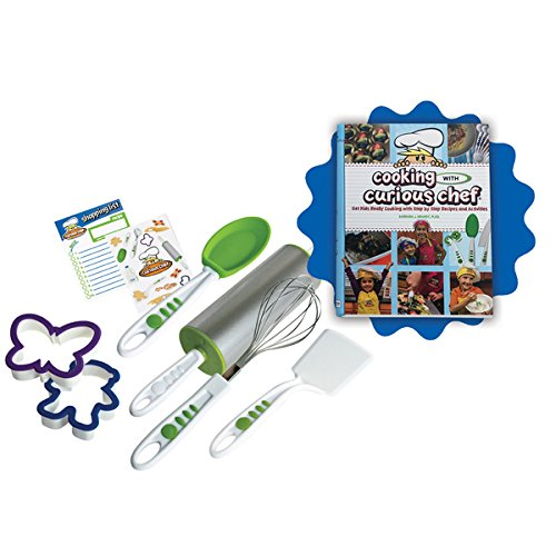 Kids Cooking with Cookbook and 6-piece Cookie Kit by Generic
