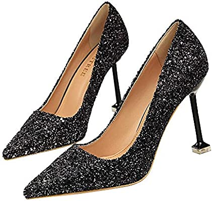 Ladies Womens High Stiletto Heels Pointy Pumps Work Smart Party Court Shoes Size