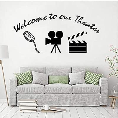 MRQXDP Bienvenido a nuestro cartel de teatro Etiqueta de la ...