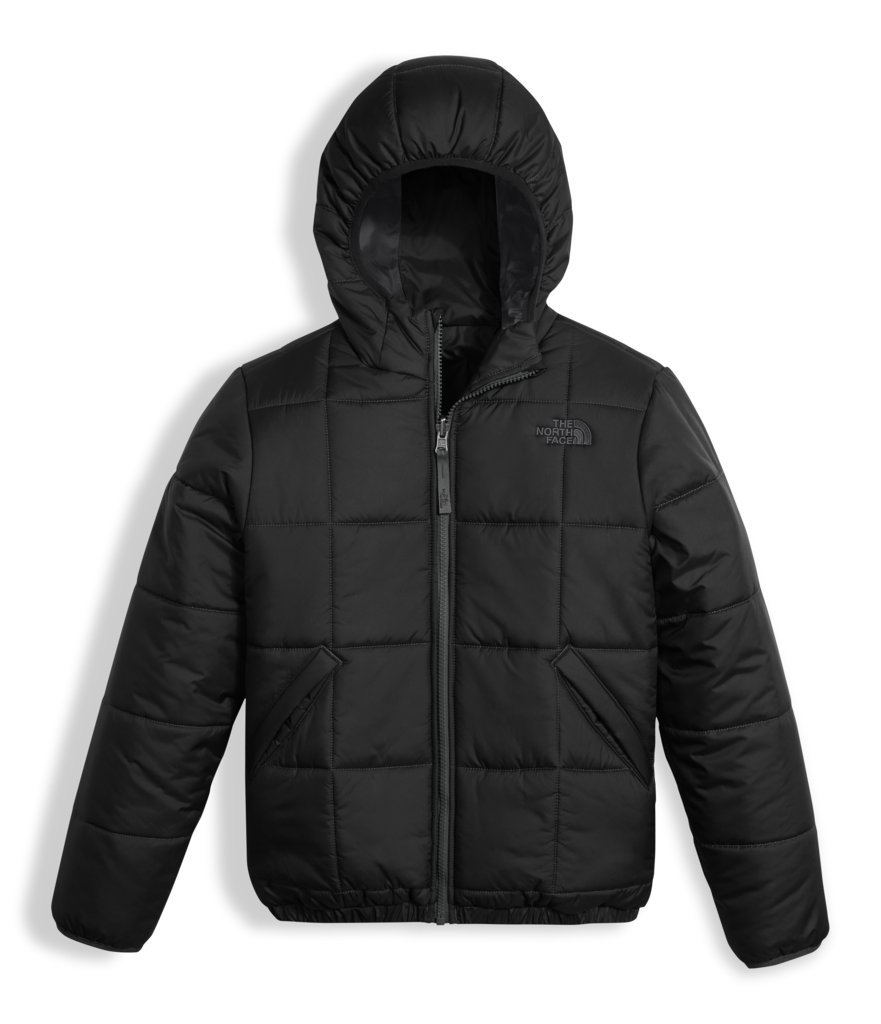 The North Face Boys Reversible Perrito Jacket - TNF Black/Graphite Grey - S
