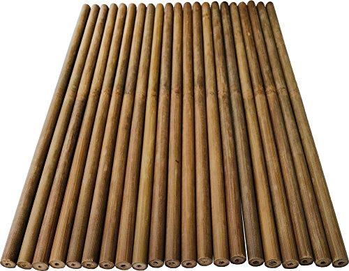 50pcs Mazo de percusión Timpani 38cm Dia10–11mm bambú Drumstick