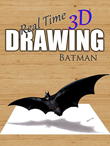 Real Time 3D Drawing: Batman by