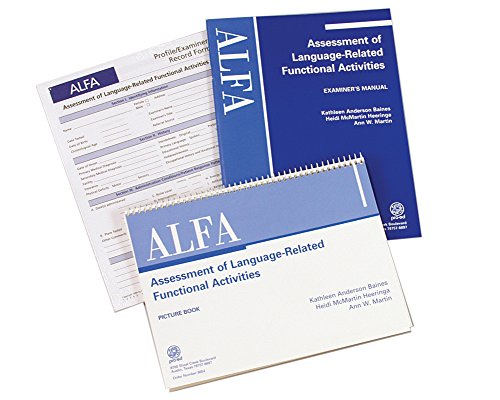 Assessment of Language Related Functional Activities, by Kathleen A. (Assessment Activities)