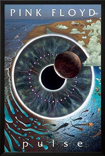 Pink Floyd Pulse Lamina Framed Poster   37 75 X 25 75In