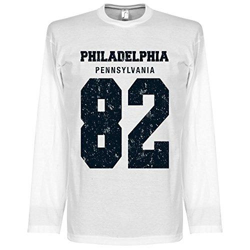 Philadelphia?82–Maglietta a maniche lunghe bianco