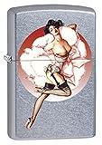 Zippo Lighter: Olivia De Berardinis Pin-up Girl Truffles - Street Chrome 78447