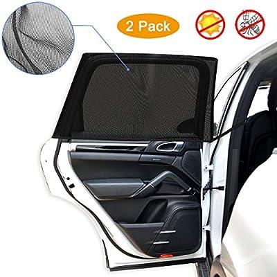 Auto-Fenster-Sonnenschutz f/ür Autofenster Sonnenschutz 5 St/ück Baby-Seitenfenster Auto-Sonnenschutz Schutz f/ür Ihr Kind Blendung und UV-Strahlen