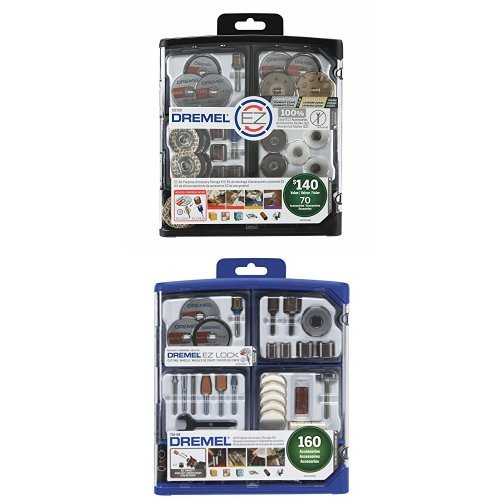 Dremel All-Purpose Accessory Storage Kit with All-Purpose Rotary Accessory Kit