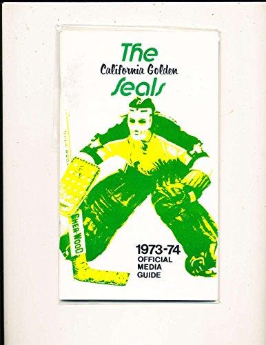 1973 Golden Seals Hockey Press Media Guide em ()