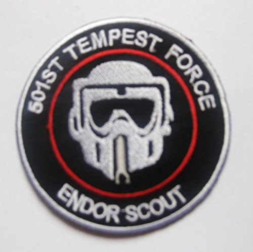 STAR WARS IMPERIAL ARMY STORMTROOPER Death Squadron Endor scouts Sew Ironed Patch Badge Embroidery S-31