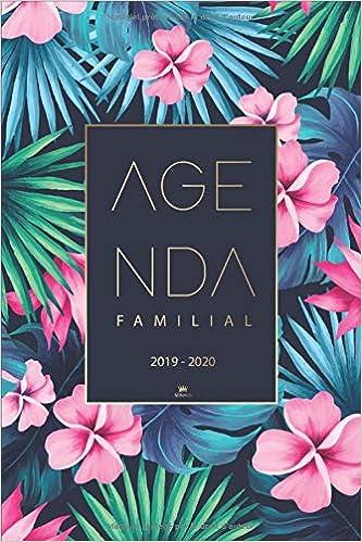 Amazon.com: Agenda Familial 2019 2020: Calendrier familial ...